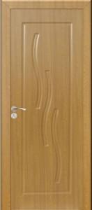Интериорна HDF врата модел 014-P Светъл дъб