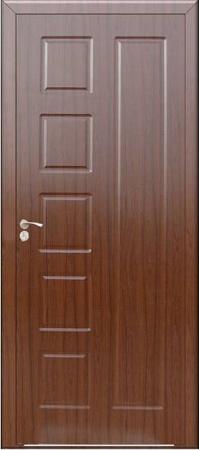 Интериорна HDF врата модел 048-P Орех