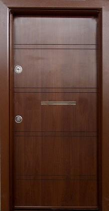 Блиндирана входна врата модел Т586 Златен дъб
