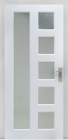 Интериорна HDF врата модел 048 Бяла