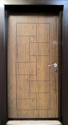 Блиндирана входна врата модел Т100 Антик