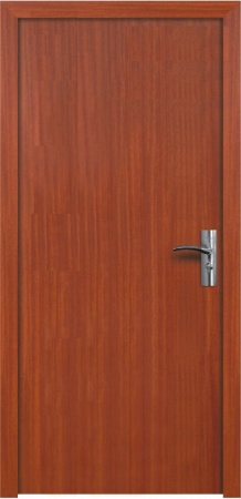 Интериорна HDF врата модел 030 Череша