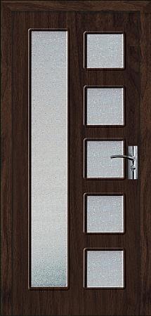 Интериорна HDF врата модел 048 Венге