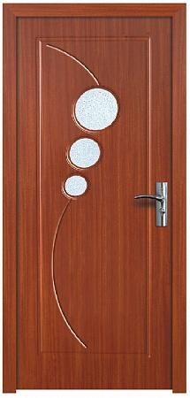 Интериорна HDF врата модел 017 Череша