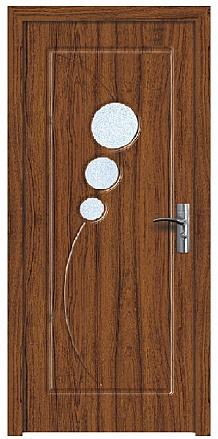 Интериорна HDF врата модел 017 Орех