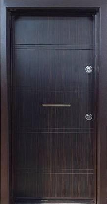 Блиндирана входна врата модел Т586 Абанос